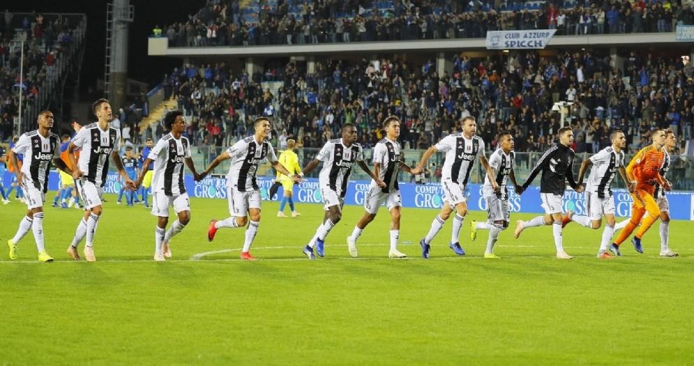 La Juventus 2018-2019 sta dominando il campionato italiano ed è prima anche in Coppa Campioni