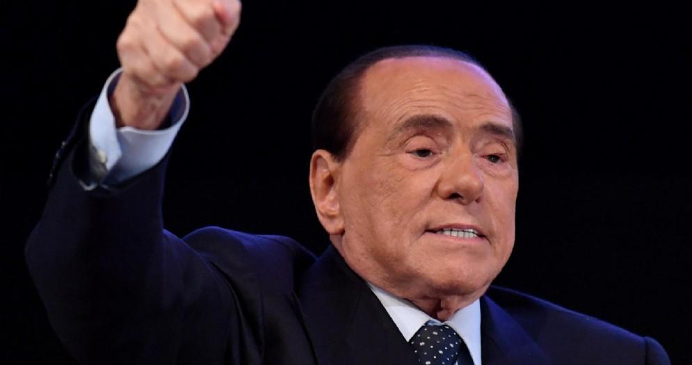 Il leader di Forza Italia Silvio Berlusconi a Milano, in una foto d'archivio