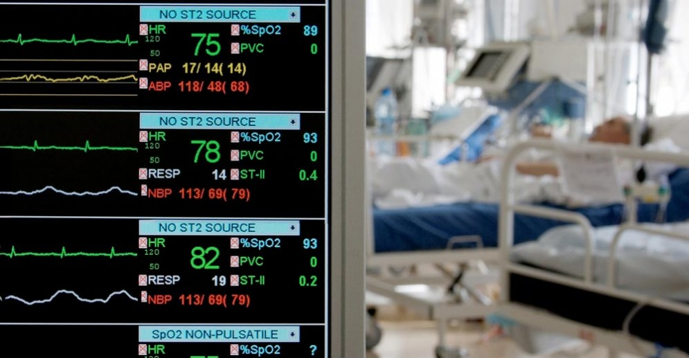 Paziente in ospedale