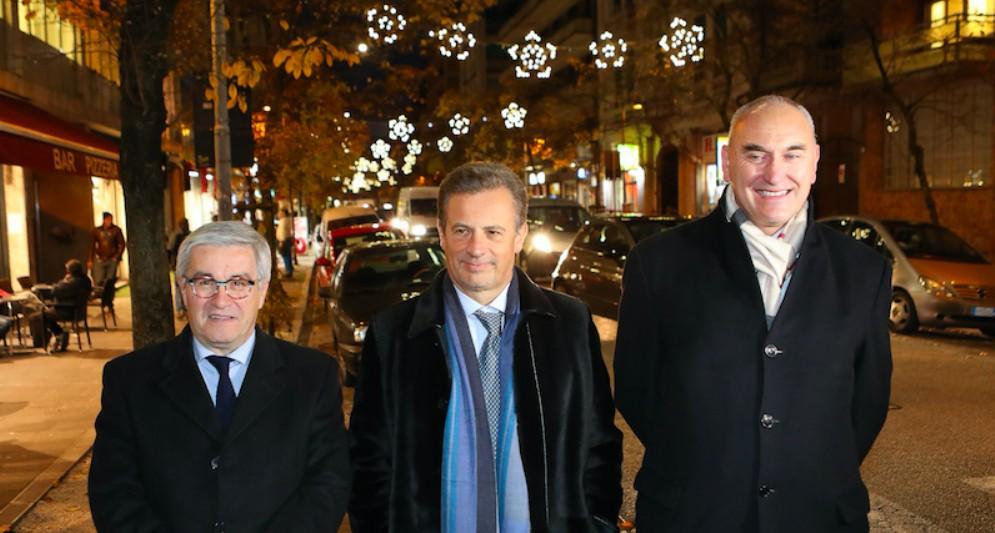 Luci natalizie e Presepe in Borgo Stazione grazie a Sereni Orizzonti