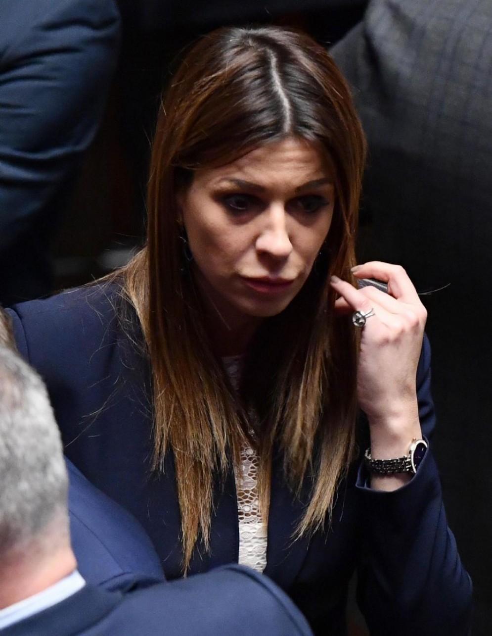 La deputata di Forza Italia Matilde Siracusano nell'Aula della Camera