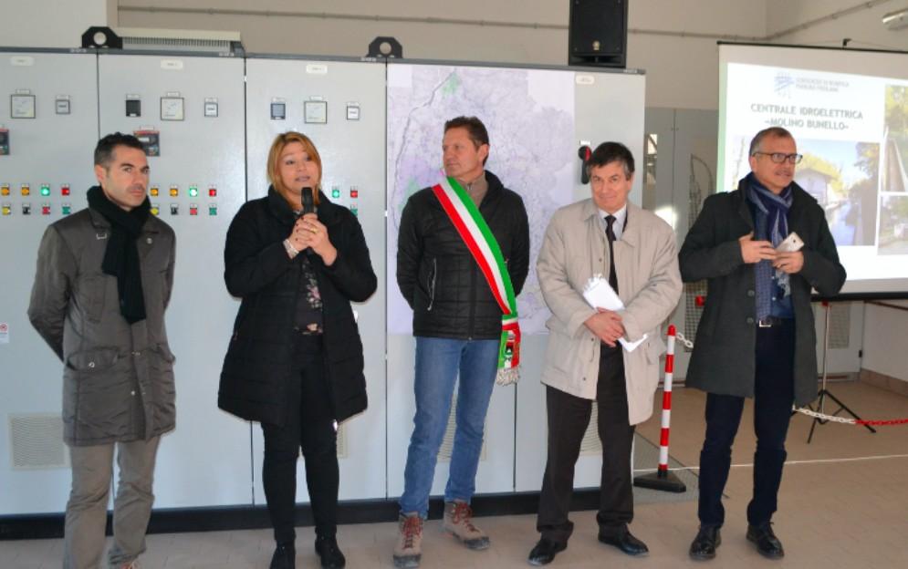 Mereto di Tomba, inaugurata la centrale idroelettrica 'Molino Brunello'