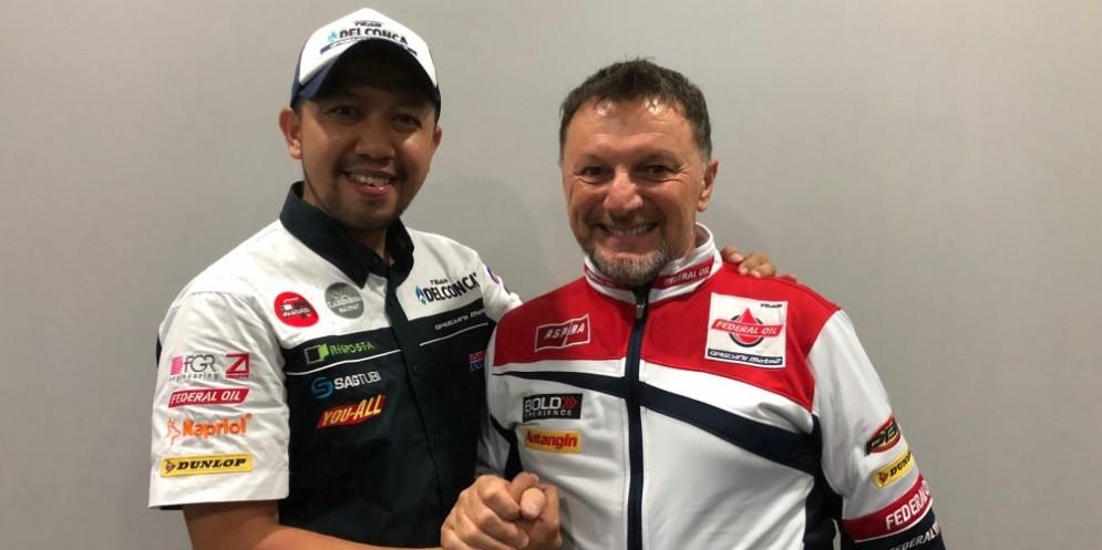 Respiro e Gresini Racing insieme anche nel 2019
