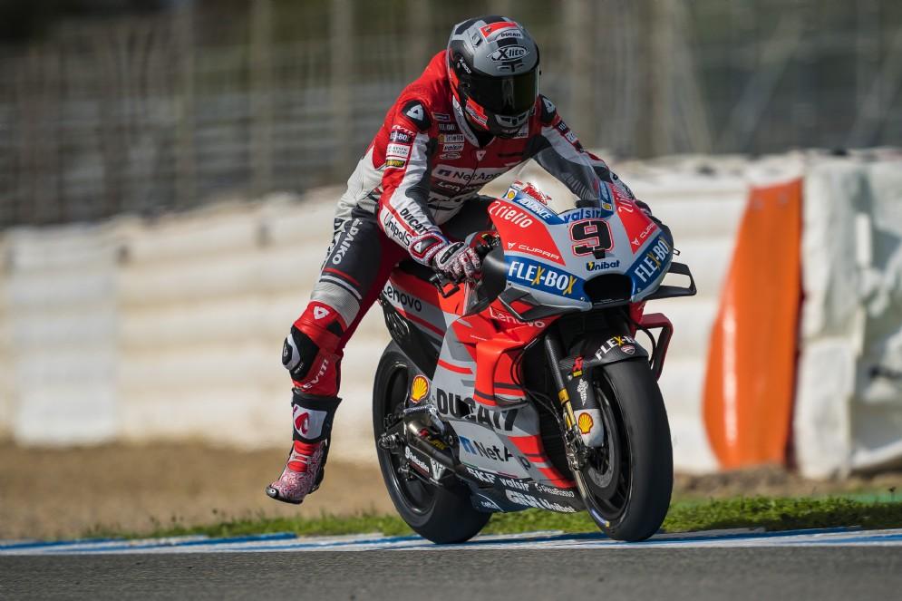 Danilo Petruzi, Jerez test