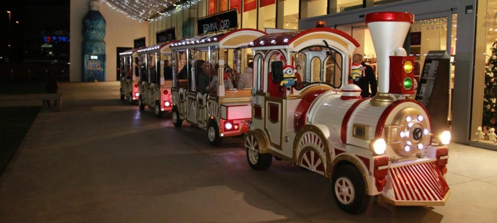 Al Terminal Nord si accende il Natale e arriva il trenino