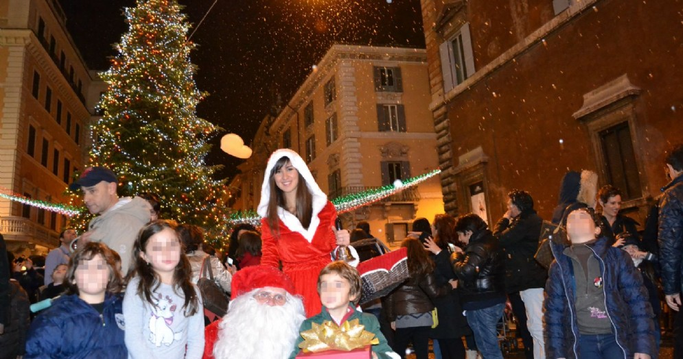 Una festa di Natale con i bambini