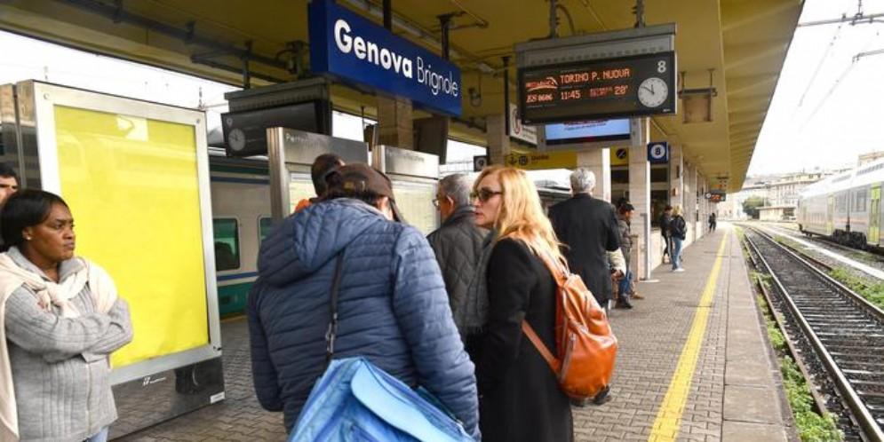 La stazione di Genova Brignole