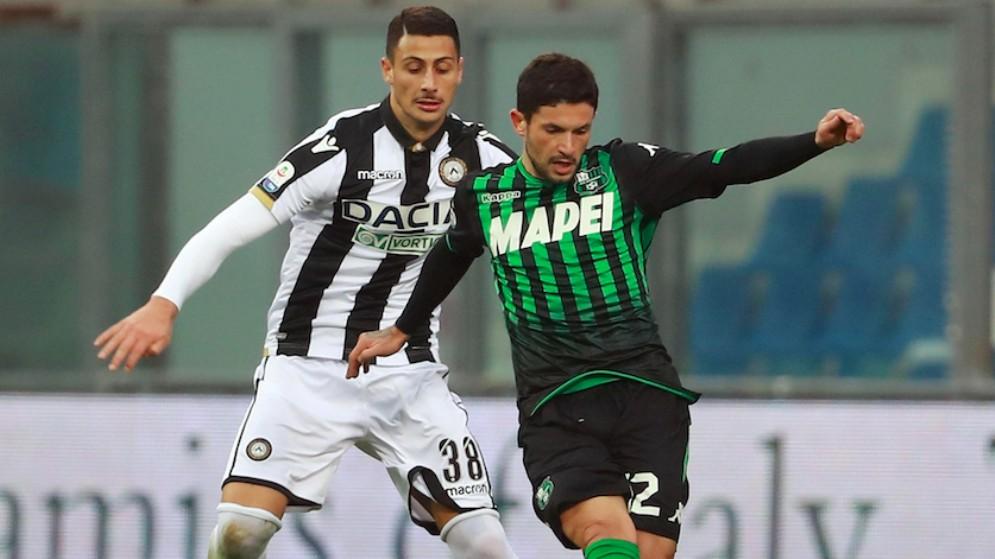 L'Udinese di Nicola strappa un punto al Sassuolo