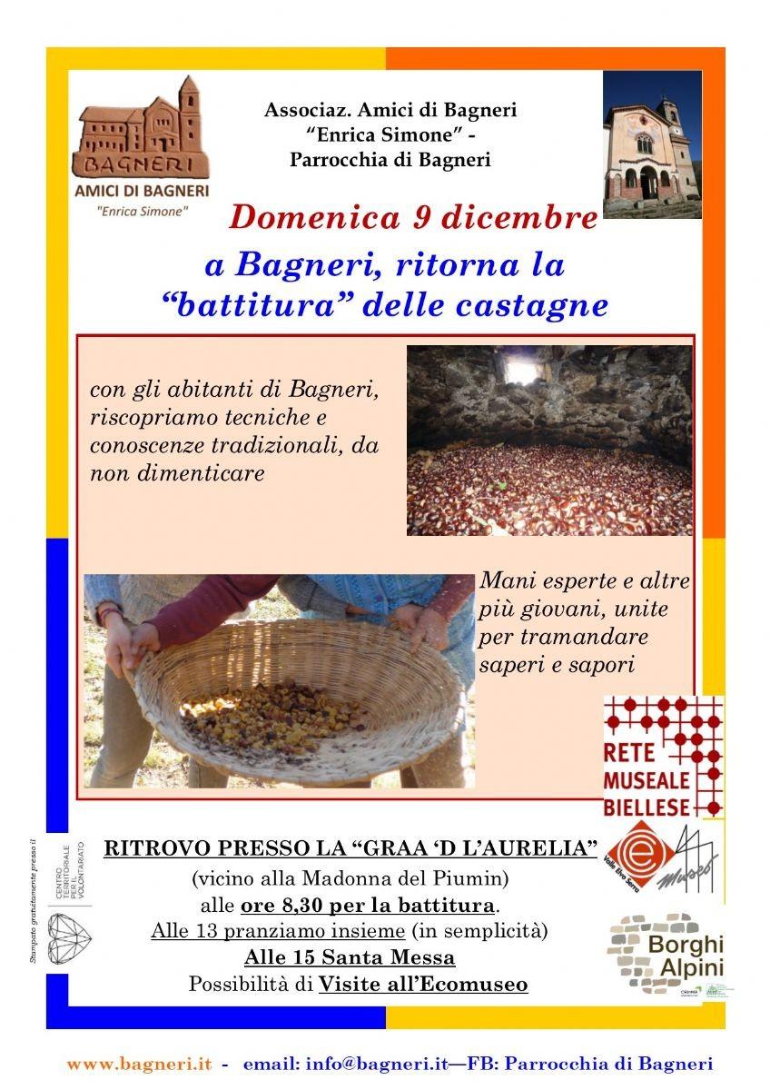 La locandina Autunno 2018 a Bagneri