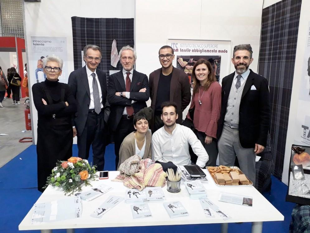 Lo stand di ITS TAM alla recente fiera Job&Orienta Verona
