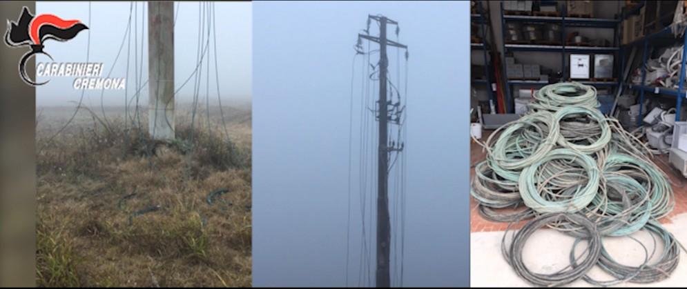 Furti di cavi di rame dalle linee elettriche: coinvolti due romeni già detenuti in Friuli