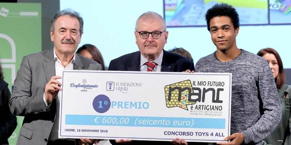 Giocattoli accessibili grazie al progetto 'Mani'di Confartigianato-Imprese Udine