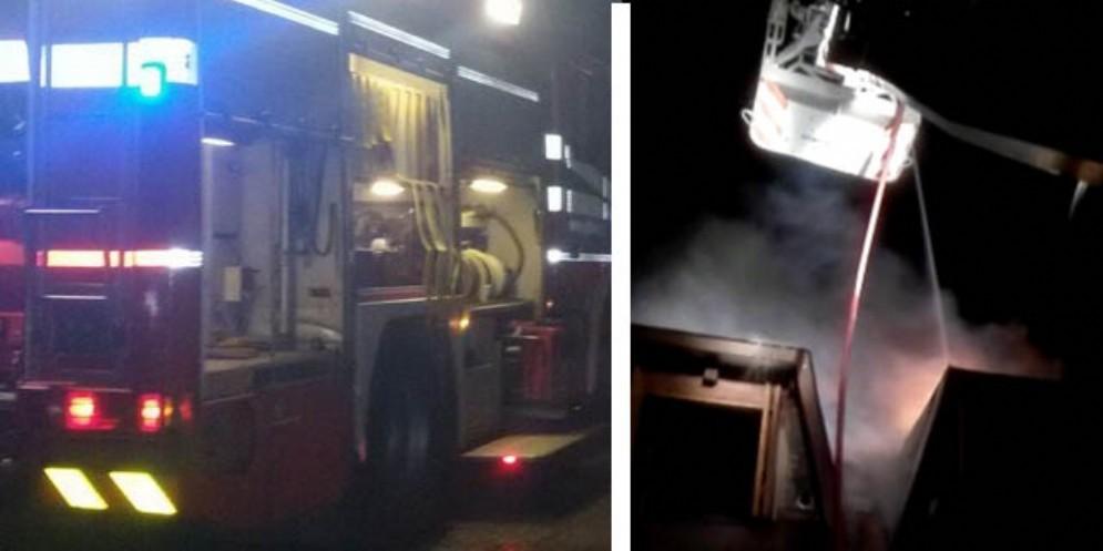 Casa va a fuoco a Tarvisio: intervengono 7 squadre dei Vigili del Fuoco