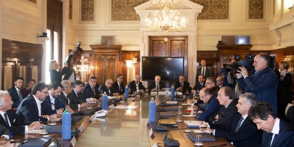Imprese da Salvini, al tavolo i presidenti di 12 associazioni
