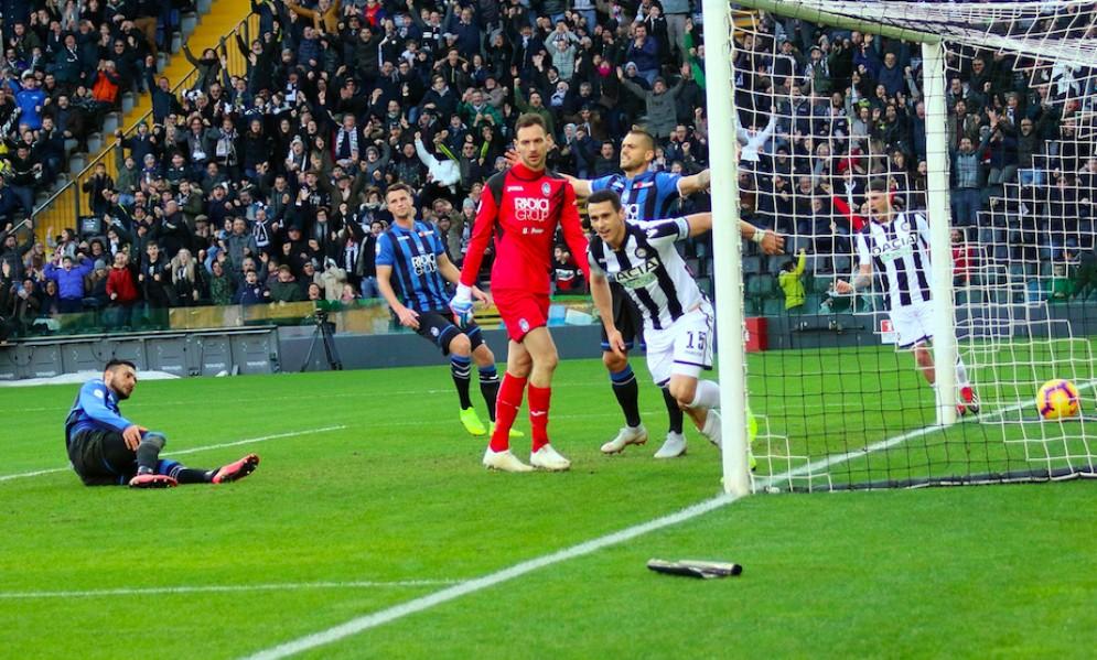 Lasagna illude, Zapata affonda l'Udinese