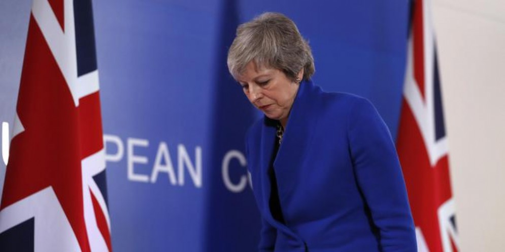 Theresa May nella trappola Brexit
