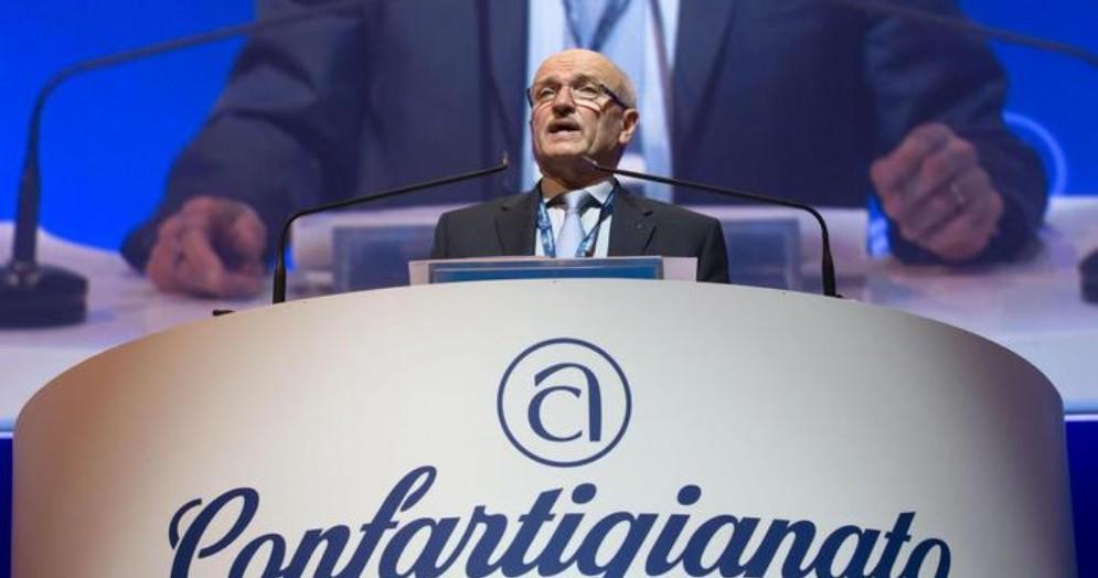 Il Presidente di Confartigianato, Giorgio Merletti