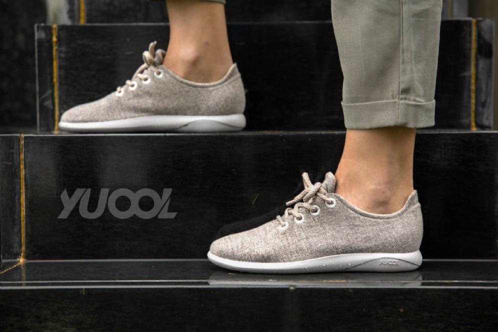 La sneaker in lana merino