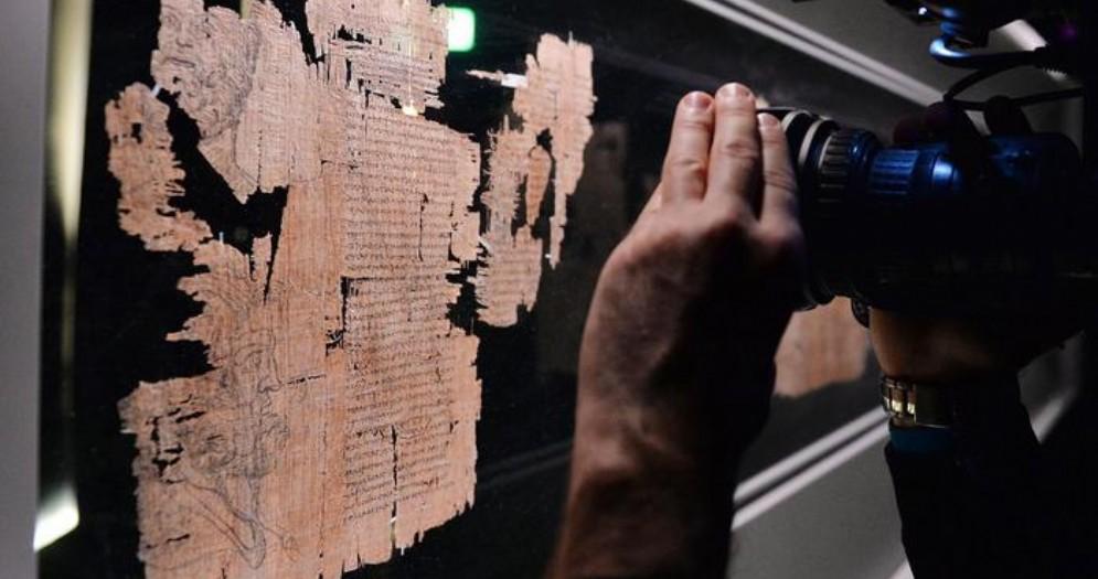 Il Papiro di Artemidoro è un falso, reato prescritto