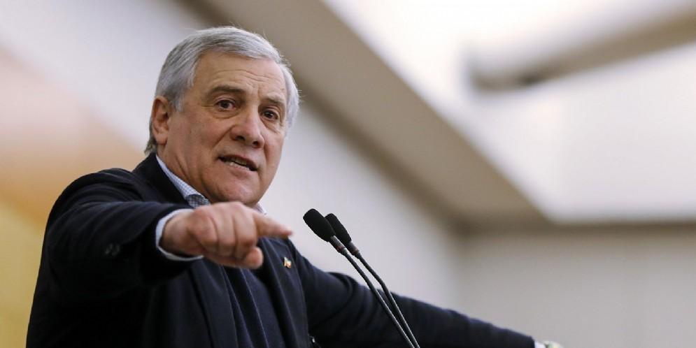 Il presidente del Parlamento Ue Antonio Tajani