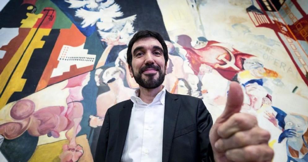 L'ex segretario Pd Maurizio Martina