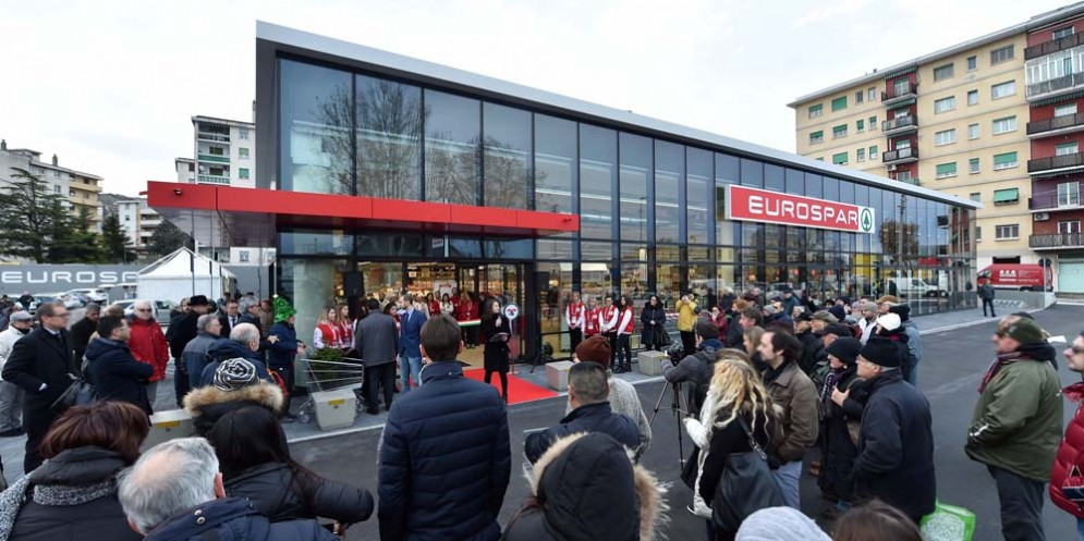 Trieste, in via Flavia apre Eurospar: diciotto nuove assunzioni e tanta attenzione per l'ambiente