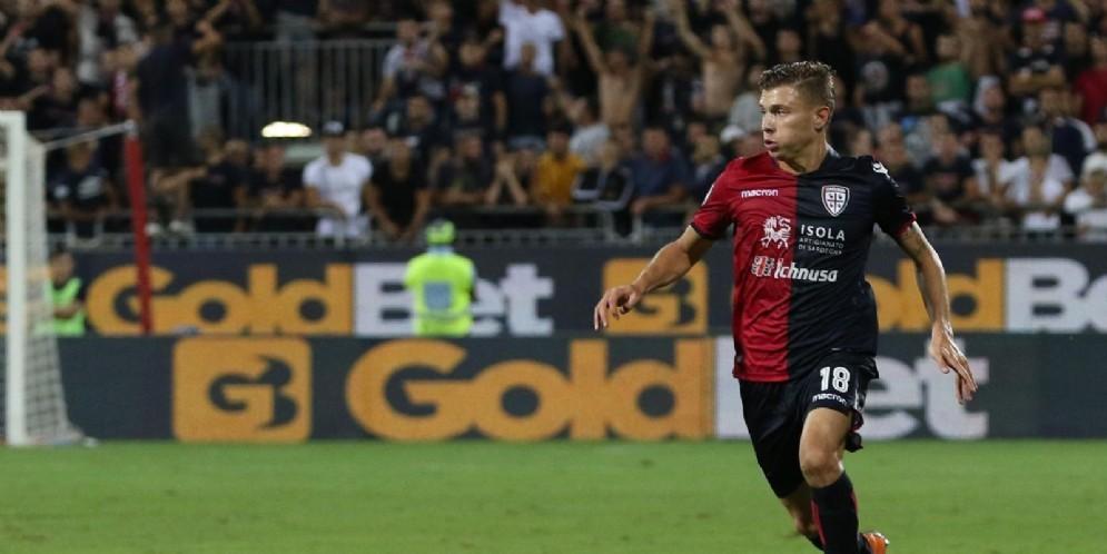 Nicolò Barella, centrocampista del Cagliari