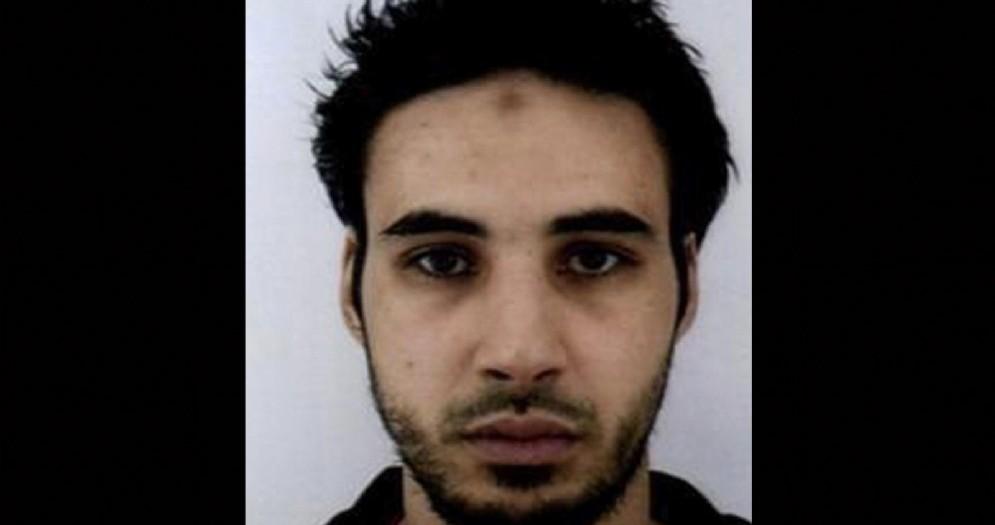 L'attentatore di Strasburgo Cherif Chekatt