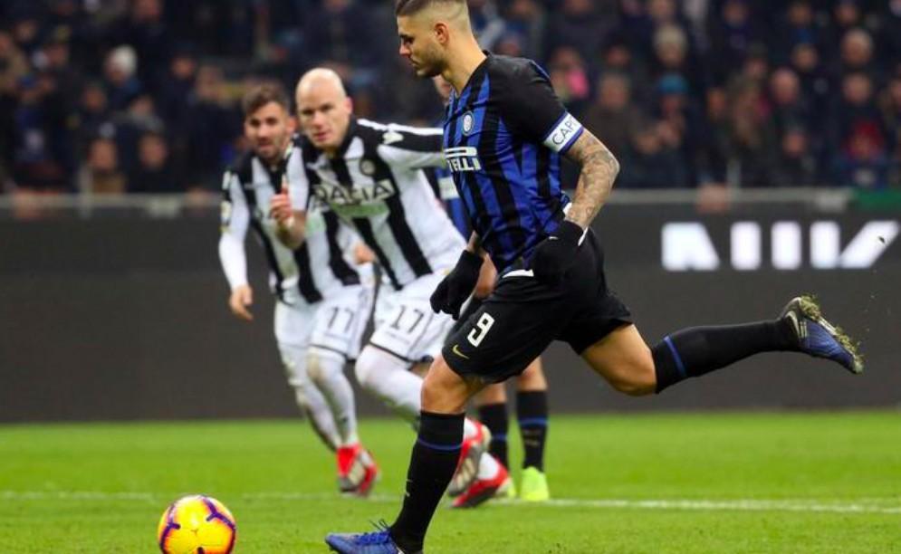 L'Udinese battuta di misura a San Siro