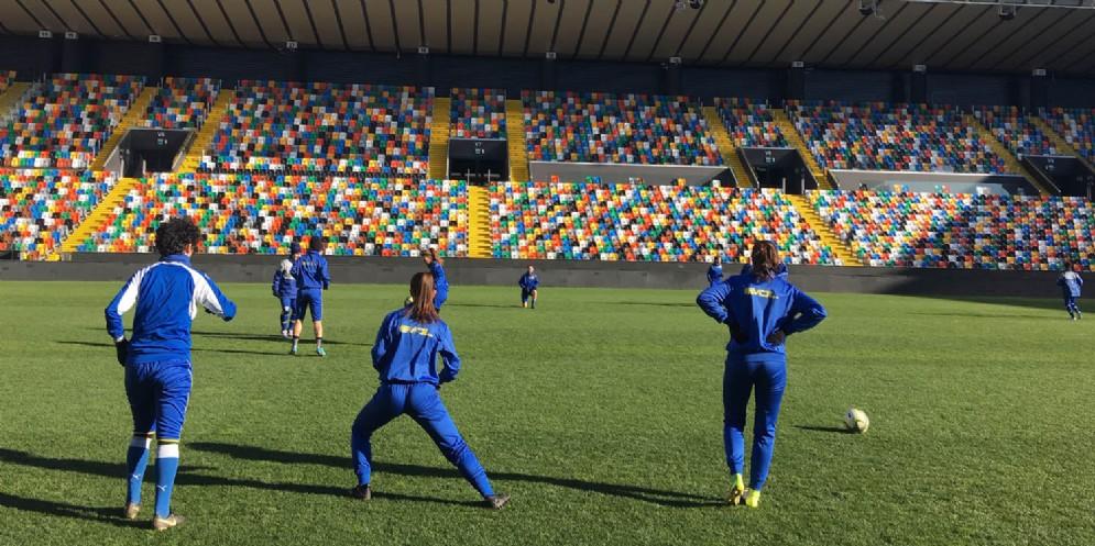 Allo stadio Friuli c'è Tavagnacco-Juventus