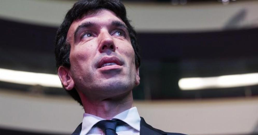 Il candidato alla Segreteria del Partito Democratico, Maurizio Martina