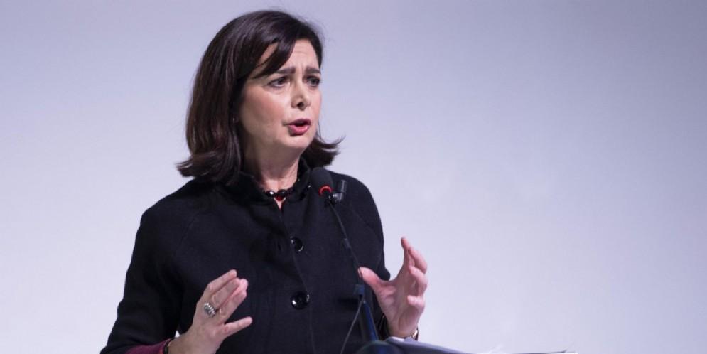 L'ex presidente della Camera Laura Boldrini
