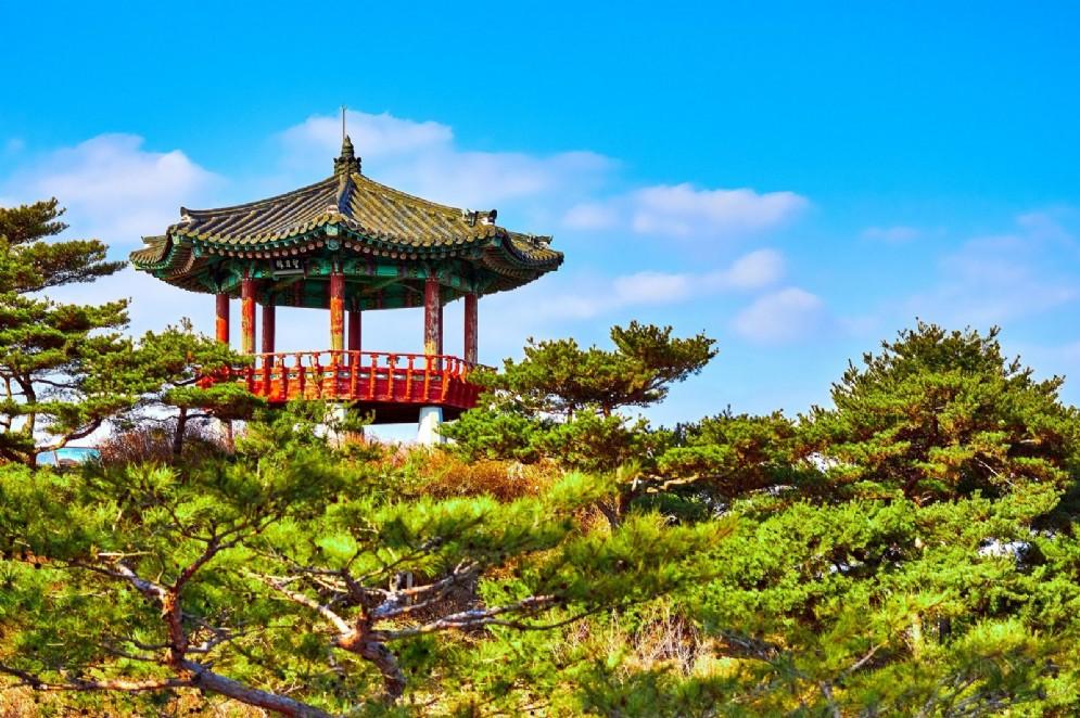 Un tempio in Corea del Sud