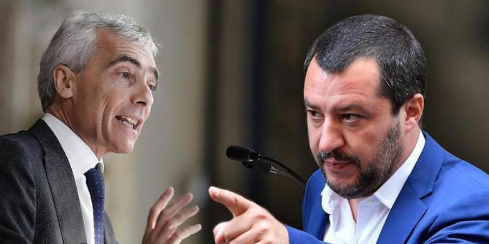 Tito Boeri e Matteo Salvini