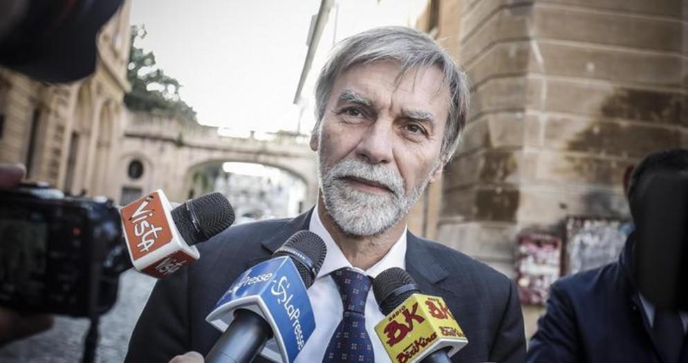 Il Ministro dell'Interno, Graziano Delrio
