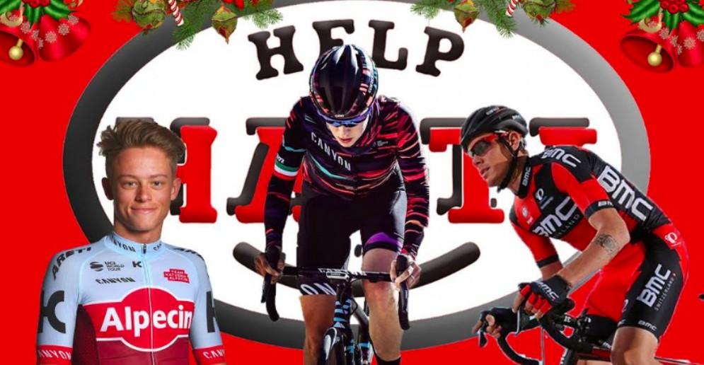 Help Haiti brinda al 2019 con i campioni del ciclismo friulano
