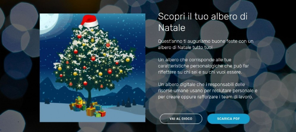L'albero digitale ideato da «Another Brick»