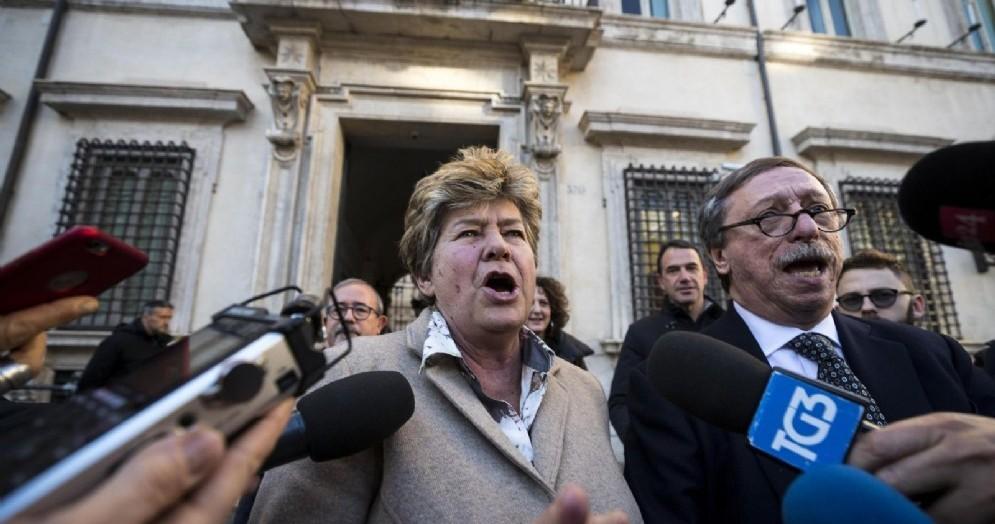 Il segretario generale della Cgil Susanna Camusso