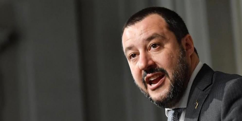 Matteo Salvini, leader della Lega e Ministro dell'Interno