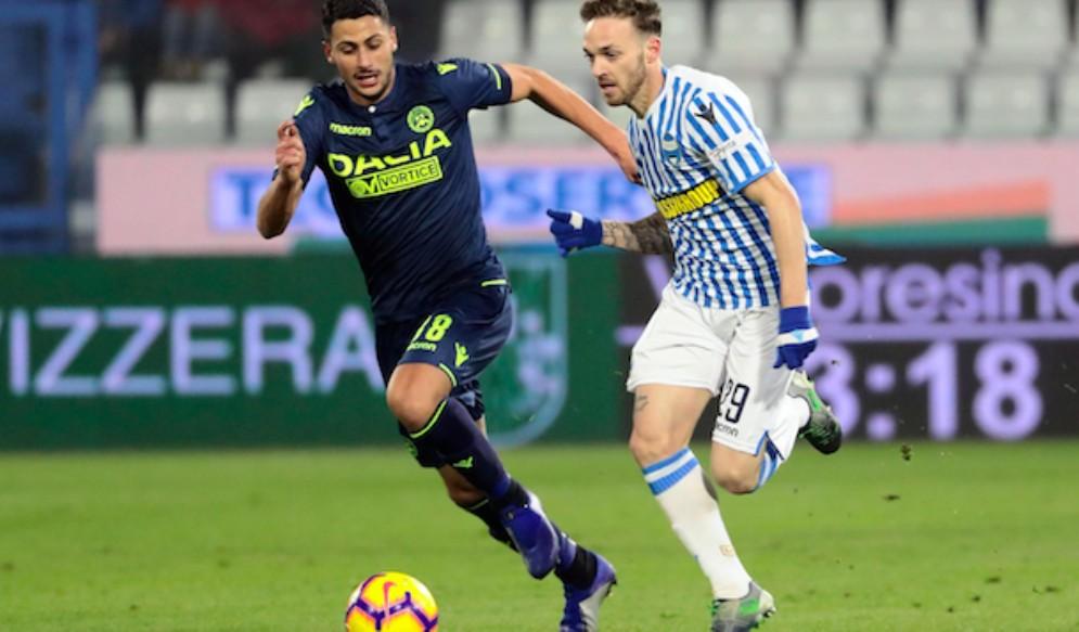 Scialbo 0 a 0 per l'Udinese a Ferrara