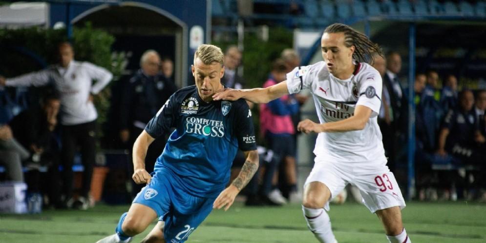 Diego Laxalt, laterale sinistro del Milan