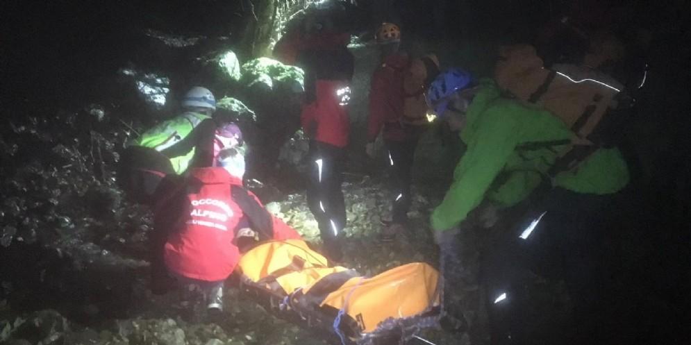 Escursionisti bloccati in quota: intervento notturno di Cnsas e Vigili del Fuoco