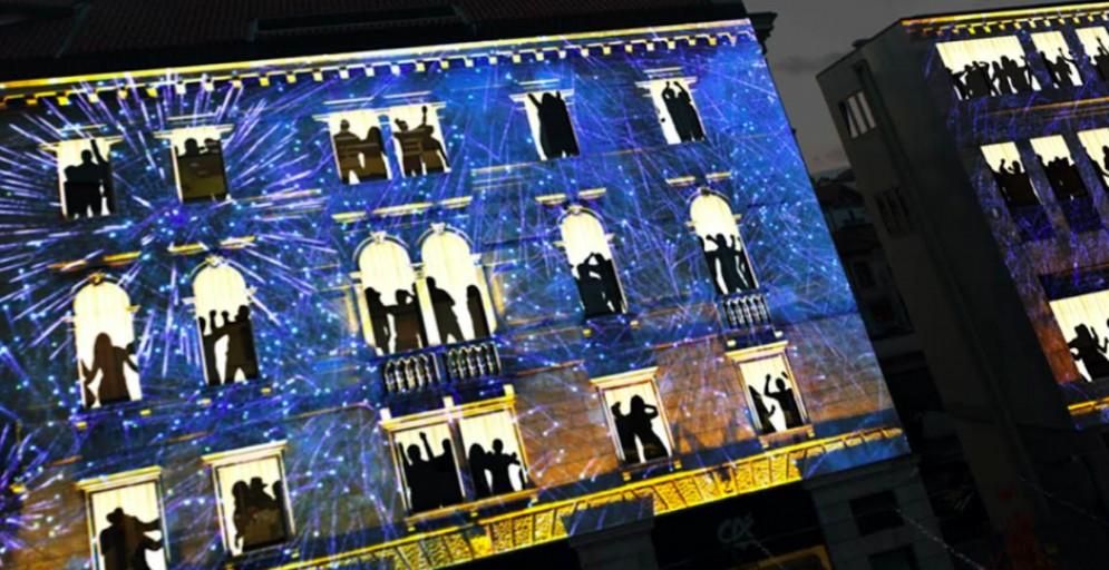 Il Capodanno a Pordenone punta tutto sulla tecnologia con il videomapping