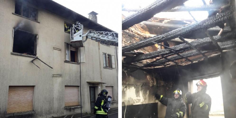 Incendio in un'abitazione di Nimis: 5 persone evacuate