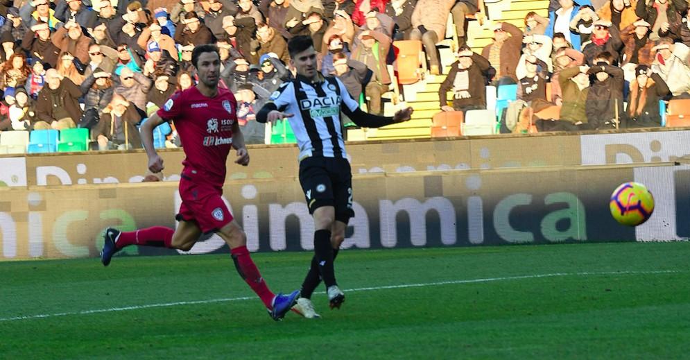 Pussetto salva l'Udinese e la panchina di Nicola