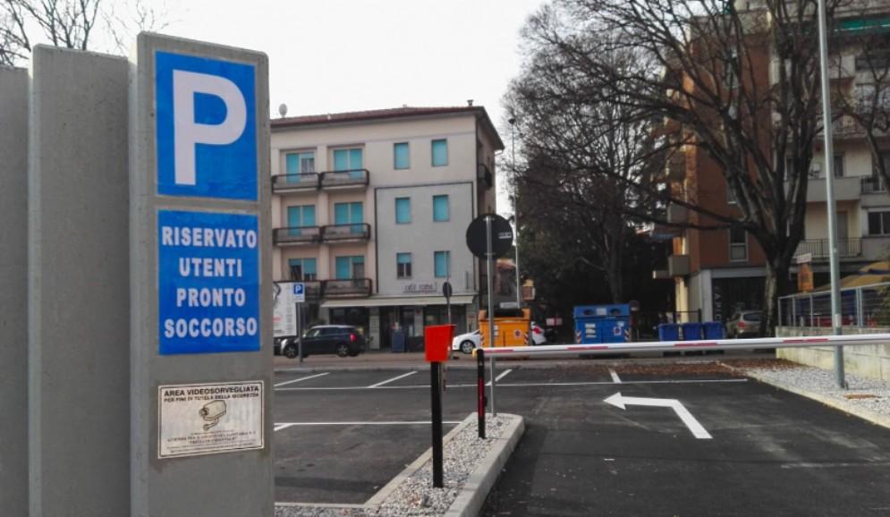 Operativo il nuovo parcheggio del Pronto Soccorso di Pordenone