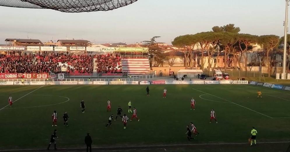 La Triestina batte la Vis Pesaro 1-0, decide Maracchi: è secondo posto