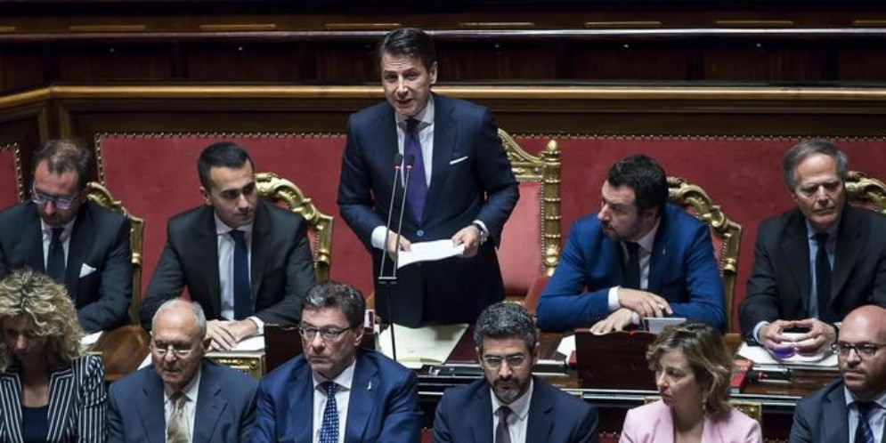 Il Governo Conte alla Camera