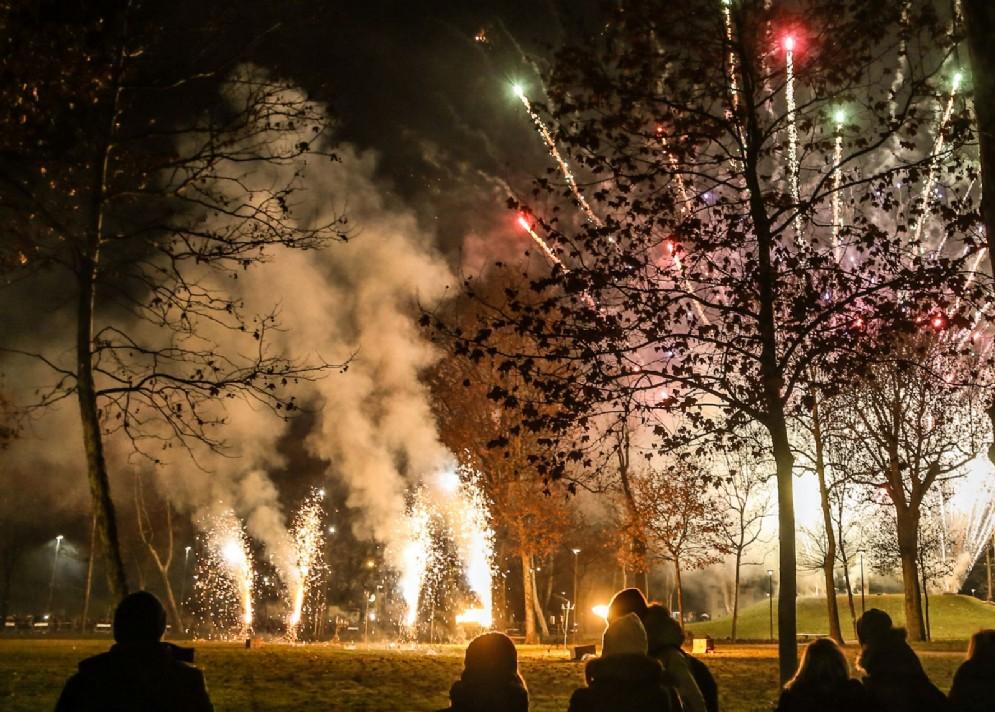Le immagini del Capodanno in piazza Primo Maggio