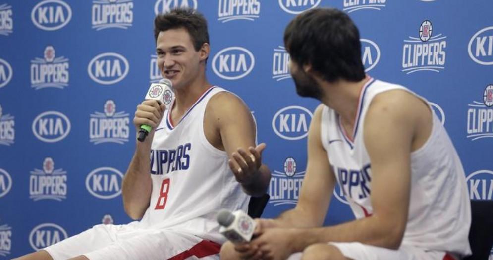 Danilo Gallinari con la maglia dei Los Angeles Clippers